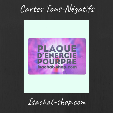 Cartes Ions-Négatifs (Lot De 3 Cartes)